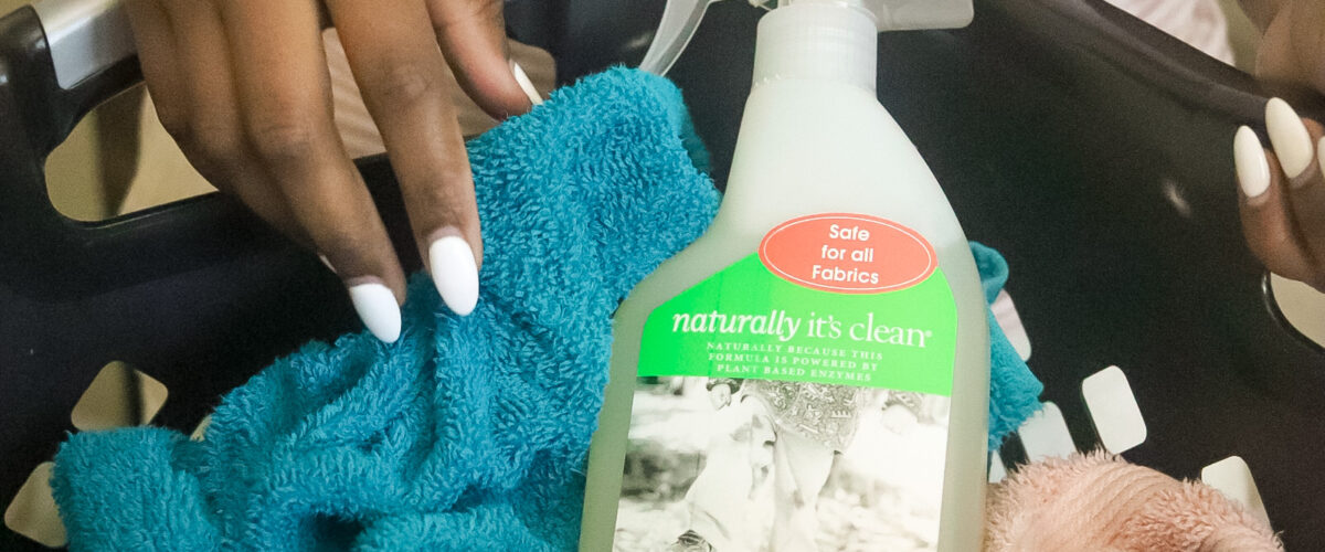 My Sunday deep cleaning routine with Naturally It's Clean products.