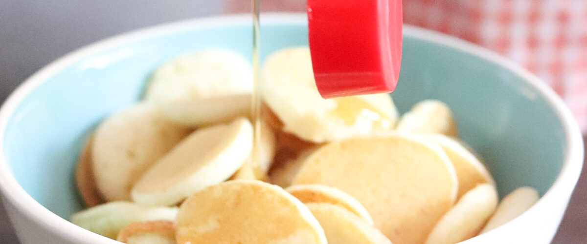 How To Make Pancake Cereal.