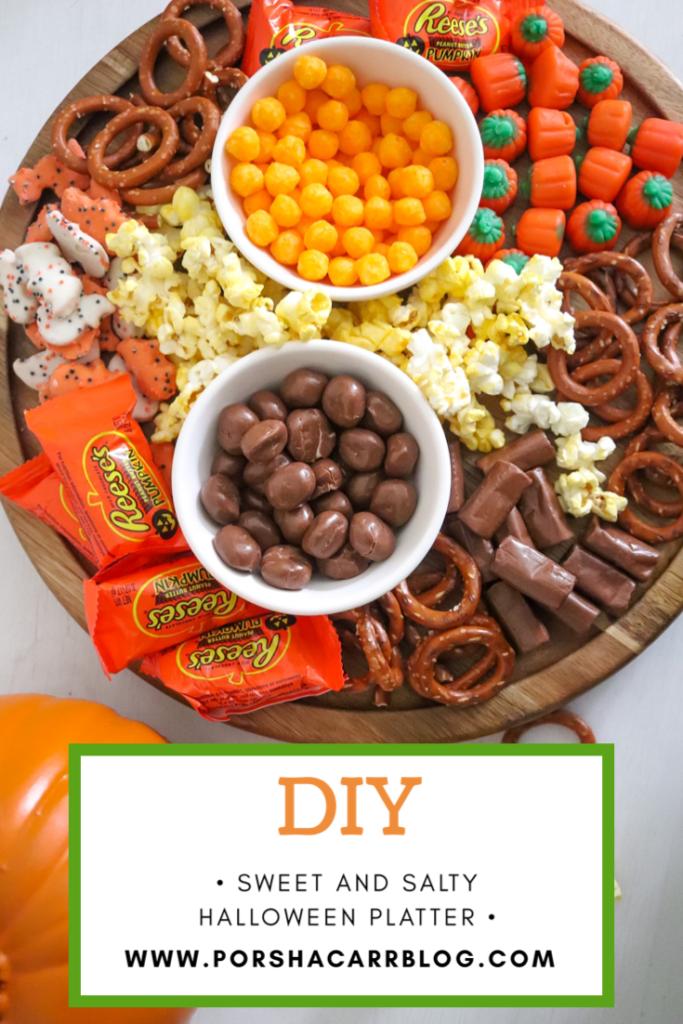 DIY Halloween platter
