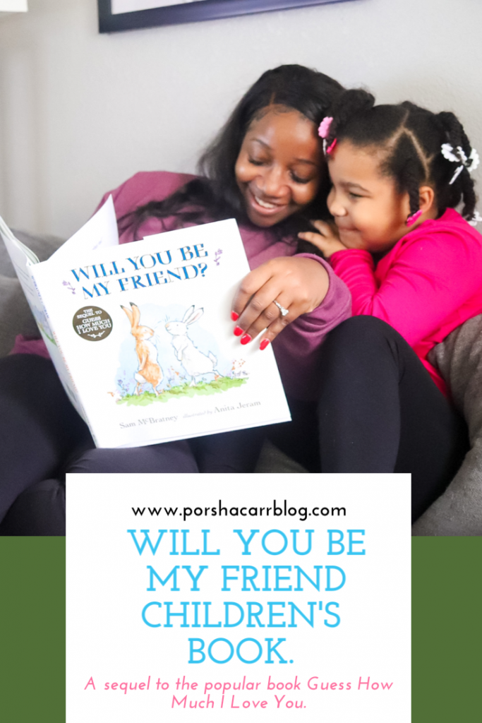 Will you be my friend children's book.