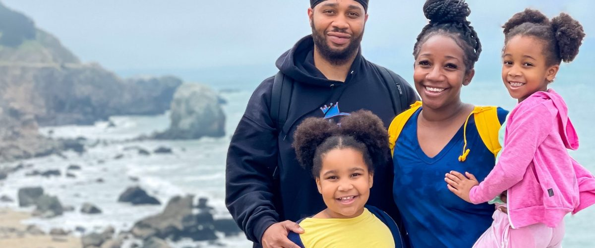 Hiking Lands End Trail In San Francisco with kids.